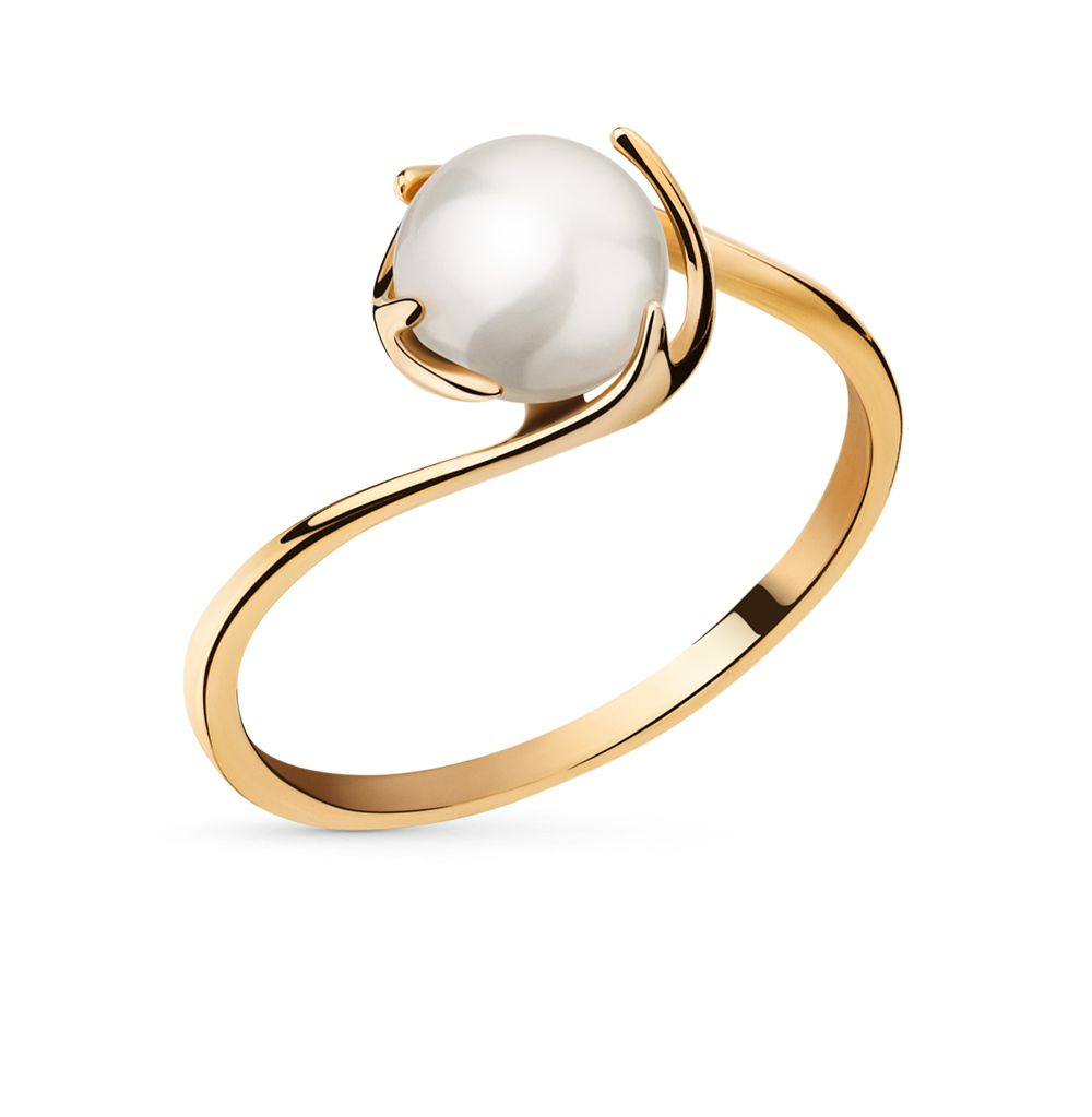 Фото «золотое кольцо с жемчугами»