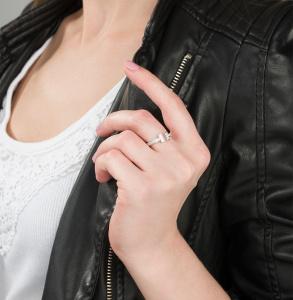 Кольцо, серебро
