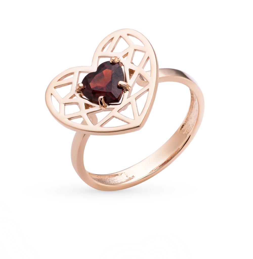 Фото «золотое кольцо с бриллиантами, гранатами и сапфирами»
