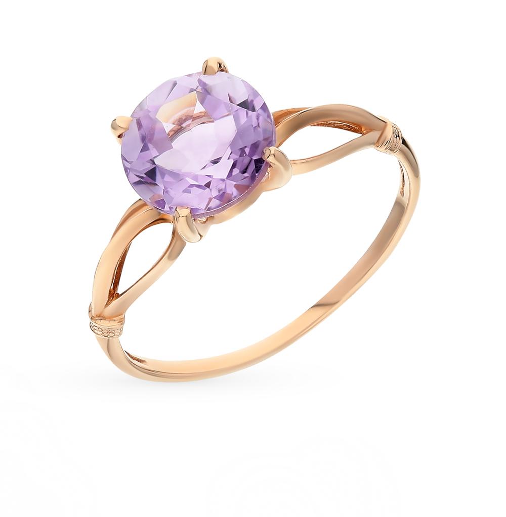 Фото «золотое кольцо с аметистами»