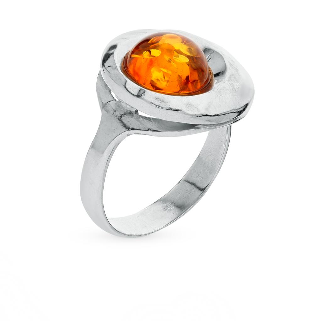 Фото «серебряное кольцо с янтарём»